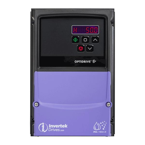 ODE-3+ frekvensomriktare IP66